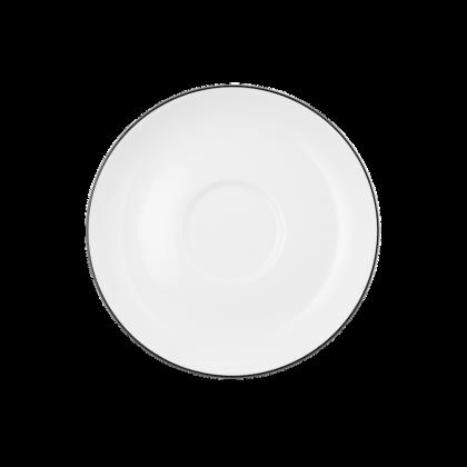Lido Untertasse zur Teetasse 13 cm Black Line