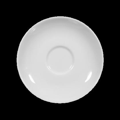 Rondo Untertasse zur Moccatasse 12 cm weiß