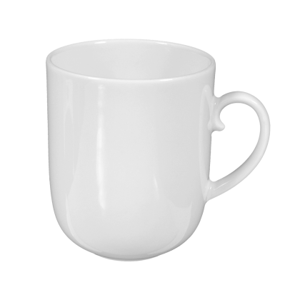 Rondo Becher mit Henkel 0,25 l weiß