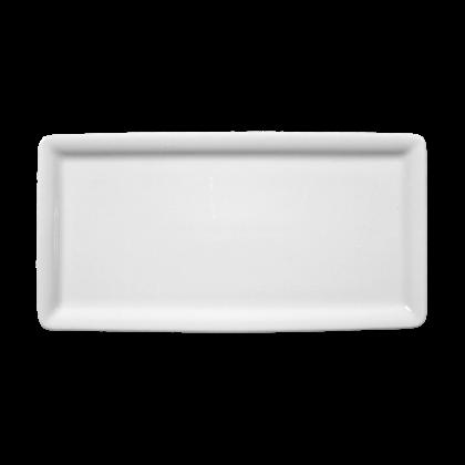 Buffet-Gourmet Platte 5170 10x20 cm weiß