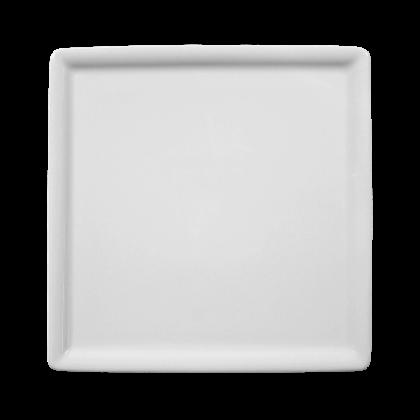 Buffet-Gourmet Platte 5170 16x16 cm weiß