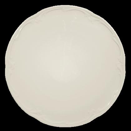 Rubin Tortenplatte 32 cm cream