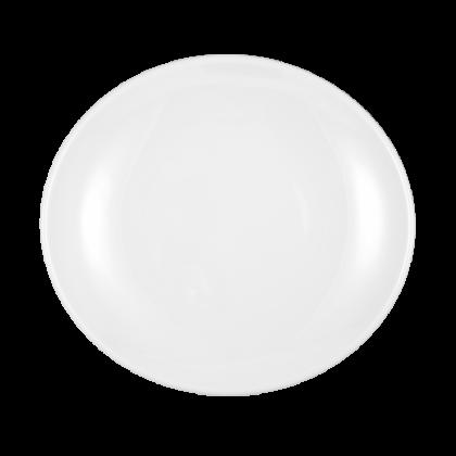 Modern Life Teller oval 21 cm weiß
