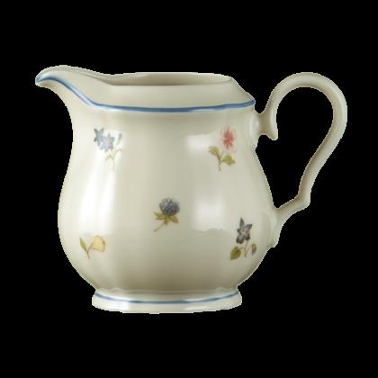 Marie-Luise Milchkännchen 0,22 l für 6 Personen Streublume blauer Rand