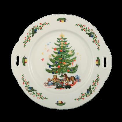 Marie-Luise Kuchenplatte mit Griff 27 cm Weihnachten