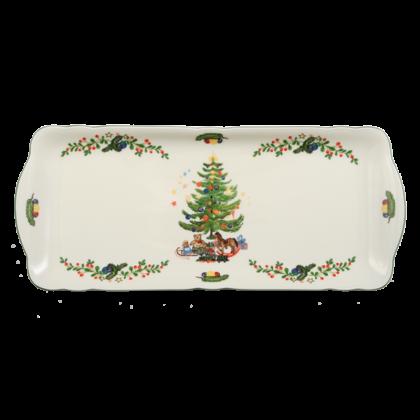 Marie-Luise Kuchenplatte eckig 35 cm Weihnachten
