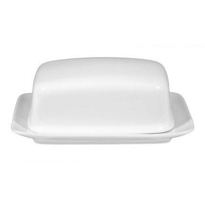 Compact Butterdose 1/2 Pfd weiß
