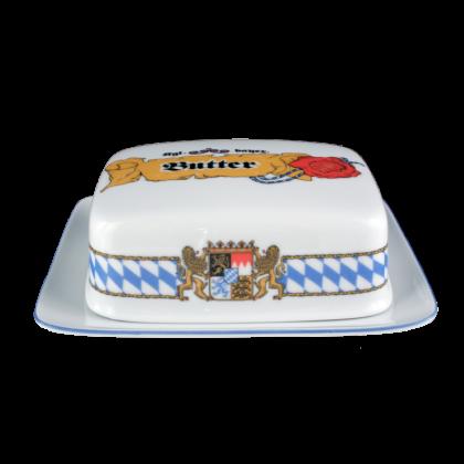 Compact Butterdose 1/2 Pfund Bayern