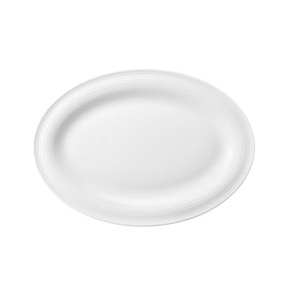 Beat Servierplatte schmal 25x18 cm weiß