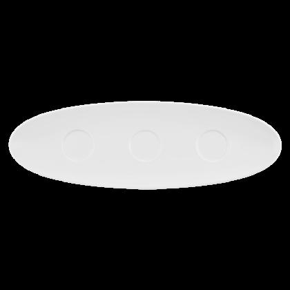 Coup Fine Dining Setplatte 44 cm weiß