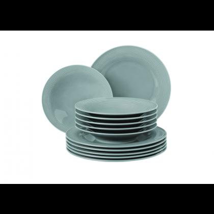 Beat Tafelservice 12-teilig Color Glaze Arktisblau