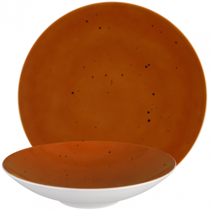 Coup Fine Dining Tafelservice 12-teilig Country Life terracotta