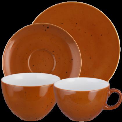 Coup Fine Dining Frühstück-Set 8-teilig Country Life terracotta