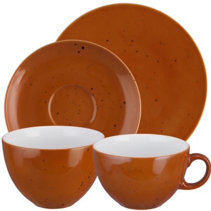 Coup Fine Dining Frühstück-Set 8-teilig Country Life terracotta