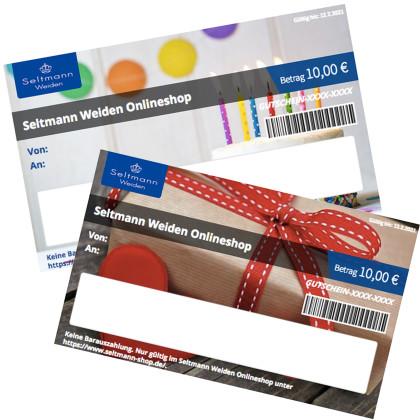 Geschenkgutschein Geburtstag / Geschenk zum Drucken