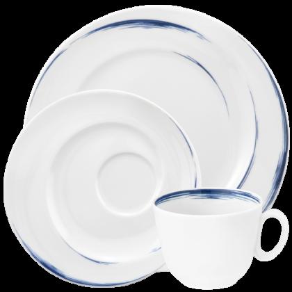Paso Kaffeeservice 18-tlg. P Blue Brush