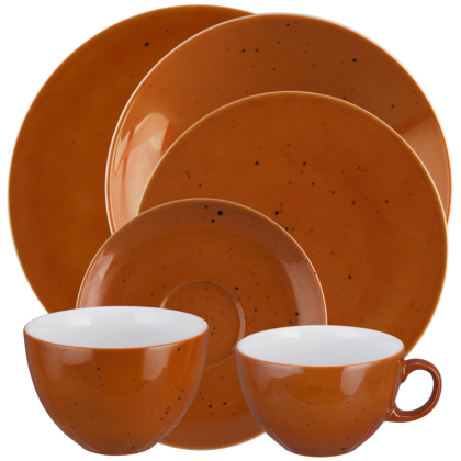 Coup Fine Dining Kombi-Set 12-teilig Country Life terracotta
