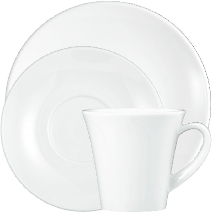 Modern Life Kaffeeservice 18-teilig weiß
