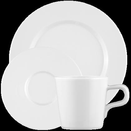 No Limits Kaffeeservice 18-teilig weiß