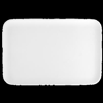 No Limits Platte eckig 36 cm x 24 cm weiß