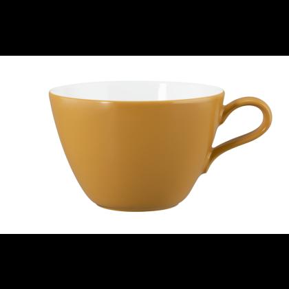 Life Milchkaffeeobertasse 0,37 l Molecule Amber Gold