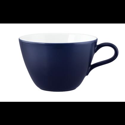 Life Milchkaffeeobertasse 0,37 l Molecule Denim Blue