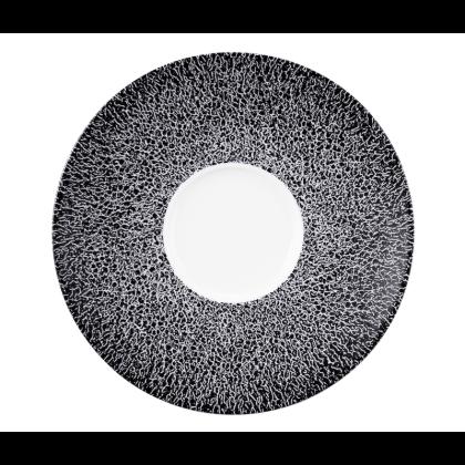 Life Kombi-Untertasse 16,5 cm Molecule Phantom Black