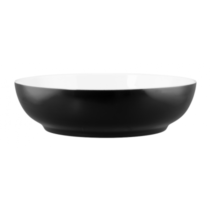 Life Foodbowl 25 cm Molecule Phantom Black