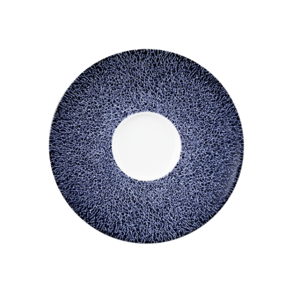 Life Kombi-Untertasse 13,5 cm Molecule Denim Blue