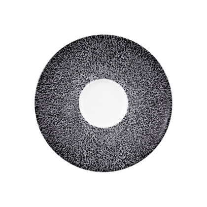 Life Kombi-Untertasse 13,5 cm Molecule Phantom Black