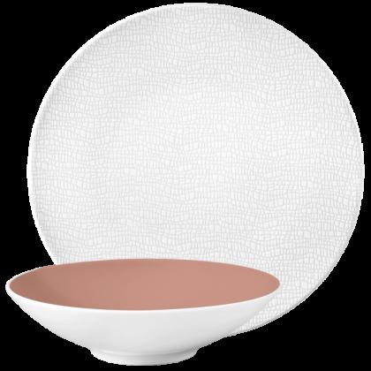 Life Tafel-Set für 2 Personen Posh Rose & Luxury White