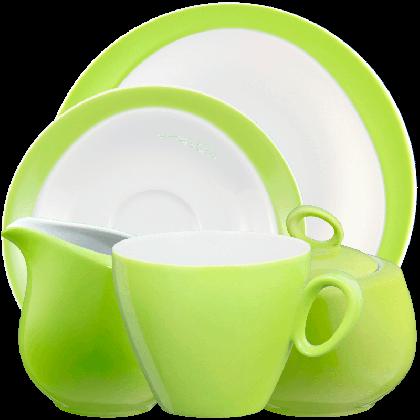 Trio Kaffeeservice 20-teilig Apfelgrün
