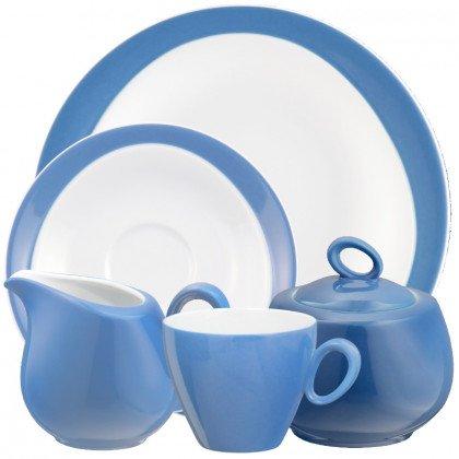 Trio Kaffeeservice 20-teilig Blau