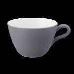 Life Milchkaffeeobertasse 0,37 l Fashion Elegant Grey