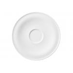 Beat Kombi-Untertasse groß 16,5 cm weiß