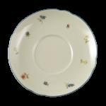 Marie-Luise Untertasse zur Suppentasse 16 cm Streublume blauer Rand
