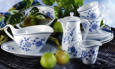 Doris Bayerisch Blau