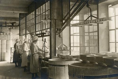 Historische Impressionen aus der Porzellanfabrik