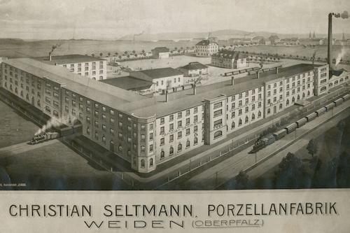 Porzellanfarbrik Seltmann historisch