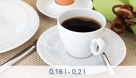 Volumen 0,16-0,2 l Tassen Seltmann