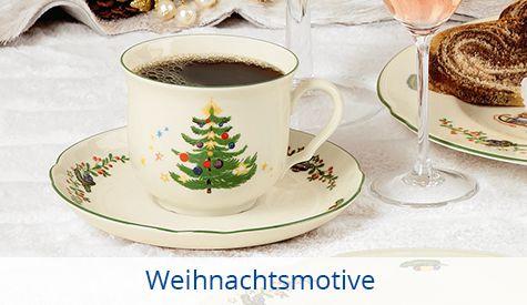 Weihnachtsmotive Tassen Seltmann
