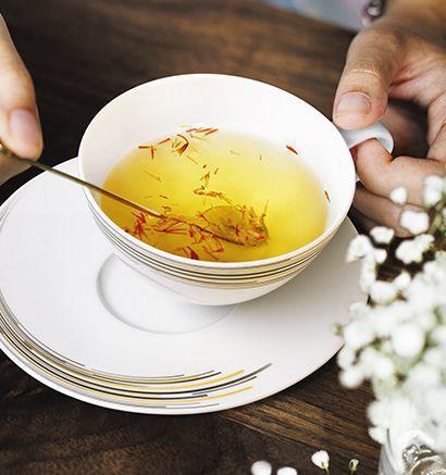 Teezeit im Seltmann Weiden Shop
