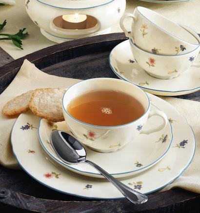 Teeporzellan von Seltmann Weiden